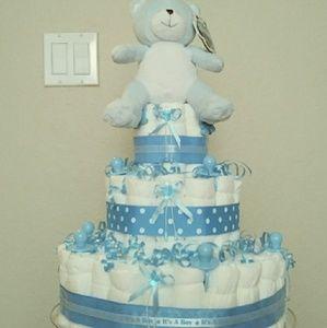 Custom Diaper Cakes